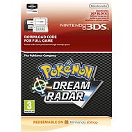 Pokémon Dream Radar - Nintendo 2DS/3DS Digital - Console Game