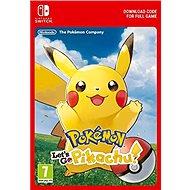 Pokémon Let's Go Pikachu! - Nintendo Switch Digital - Hra pro konzoli