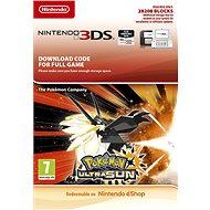 Pokemon Ultra Sun - Nintendo 2DS/3DS Digital - Hra pro konzoli
