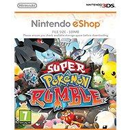 Super Pokémon Rumble - Nintendo 2DS/3DS Digital - Hra pro konzoli