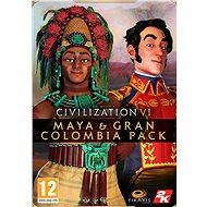Civilization VI - Maya & Gran Colombia Pack - PC DIGITAL - Herní doplněk