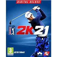 PGA TOUR 2K21 Digital Deluxe Edition - PC DIGITAL - Hra na PC