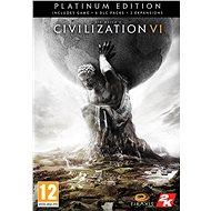 Hra na PC Sid Meier's Civilization VI Platinum Edition - PC DIGITAL