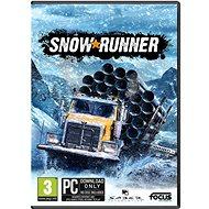 Hra na PC Snowrunner - PC DIGITAL
