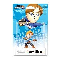 Amiibo Smash Mii Swordman - Herní figurka