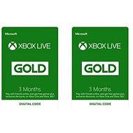 Xbox Live Gold - 3 + 3 měsíční členství - Dobíjecí karta