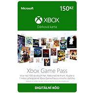 Xbox Game Pass - kredit CZ - Dobíjecí karta