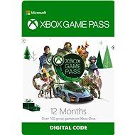 Xbox Game Pass - 12 měsíční předplatné (nutnost aktivace do 31.12.) - Dobíjecí karta