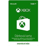 Xbox Live Dárková karta v hodnotě 1500Kč - Dobíjecí kupón