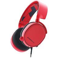 SteelSeries Arctis 3 Solar Red - Herní sluchátka