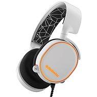 SteelSeries Arctis 5 bílá - Herní sluchátka