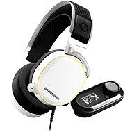 SteelSeries Arctis Pro + GameDAC White - Herní sluchátka