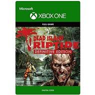 "Dead Island Riptide ""Definitive Edition"" - Xbox One DIGITAL - Console Game"