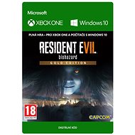 RESIDENT EVIL 7 biohazard Gold Edition - (Play Anywhere) DIGITAL - Hra pro PC a XBOX