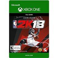 NBA 2K18: Legend Edition - Xbox One Digital - Hra pro konzoli