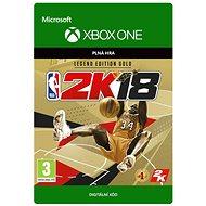 NBA 2K18: Legend Edition Gold - Xbox One Digital - Hra pro konzoli