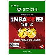 NBA 2K18: 15,000 VC - Xbox One Digital - Herní doplněk