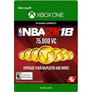 NBA 2K18: 75,000 VC - Xbox One Digital - Herní doplněk