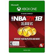 NBA 2K18: 35,000 VC - Xbox One Digital - Herní doplněk