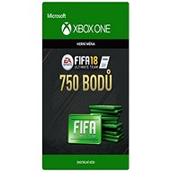 FIFA 18: Ultimate Team FIFA Points 750 - Xbox One Digital - Herní doplněk