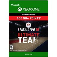 NBA LIVE 18: NBA UT 500 Points Pack - Xbox One Digital - Herní doplněk