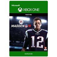 Madden NFL 18 - Standard Edition - Xbox One Digital - Hra pro konzoli