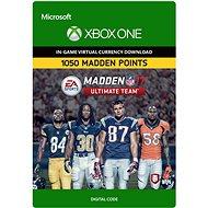 Madden NFL 18: MUT 1050 Madden Points Pack - Xbox One Digital - Herní doplněk