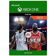 NBA LIVE 18: (Pre-Purchase/Launch Day) - Xbox One Digital - Hra pro konzoli