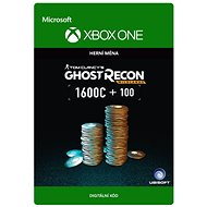 Tom Clancy's Ghost Recon Wildlands Currency pack 1700 GR credits - Xbox One Digital - Herní doplněk