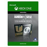 Tom Clancy's Rainbow Six Siege Currency pack 1200 Rainbow credits - Xbox One Digital - Herní doplněk