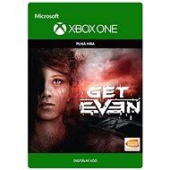 Get Even - Xbox One Digital - Hra pro konzoli