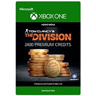Tom Clancy's The Division: Currency pack 2400 Premium Credits - Xbox One Digital - Herní doplněk