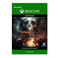 The Division: Last Stand DLC - Xbox One Digital - Herní doplněk
