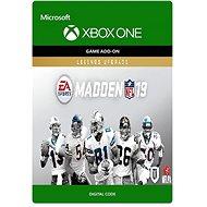 Madden NFL 19: Legends Upgrade - Xbox Digital - Herní doplněk