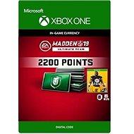 Madden NFL 19: MUT 2200 Madden Points Pack - Xbox One DIGITAL - Herní doplněk