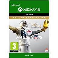 Madden NFL 19: Hall of Fame Edition - Xbox Digital - Hra na konzoli