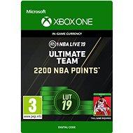 NBA LIVE 19: NBA UT 2200 Points Pack - Xbox One DIGITAL - Herní doplněk