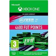 FIFA 19: ULTIMATE TEAM FIFA POINTS 4600 - Xbox Digital - Herní doplněk