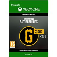 PLAYERUNKNOWN'S BATTLEGROUNDS 2,300 G-Coin  - Xbox One DIGITAL - Herní doplněk
