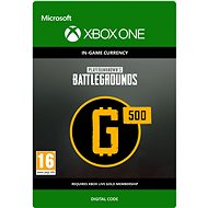 PLAYERUNKNOWN'S BATTLEGROUNDS 500 G-Coin  - Xbox One DIGITAL - Herní doplněk