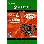 Fallout 76: 4000 Atoms  - Xbox Digital - Herní doplněk