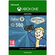 Fallout 76: 500 Atoms  - Xbox One Digital - Herní doplněk