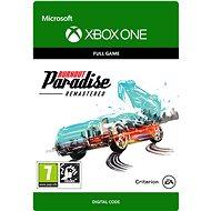 BURNOUT PARADISE REMASTERED - Xbox One Digital - Hra pro konzoli