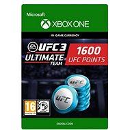 UFC 3: 1600 UFC Points - Xbox One Digital - Herní doplněk