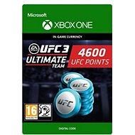 UFC 3: 4600 UFC Points - Xbox One Digital - Herní doplněk