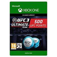 UFC 3: 500 UFC Points - Xbox One Digital - Herní doplněk