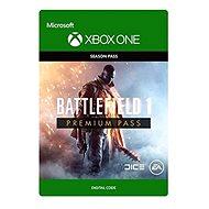 Battlefield 1: Premium Pass - Xbox One Digital - Herní doplněk