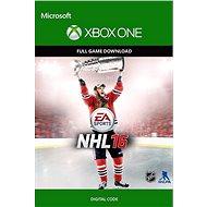 NHL 16 Standard Edition - Xbox One Digital - Hra pro konzoli
