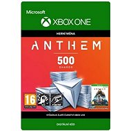 Anthem: 500 Shards Pack - Xbox One Digital - Herní doplněk