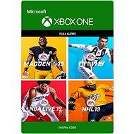 EA Sports 19 Bundle - Xbox One Digital - Hra pro konzoli